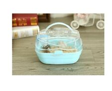 New Portable Carrier Hamster Carry Case Cage with Water Bottle Travel&Outdoor