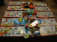 Ü-Ei Angry Birds FF 601- FF 608, FF 140, FT 072C Komplett allen BPZ