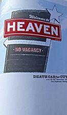 Death Cab for Cutie Mini Poster Reprint for  2006 Memphis Concert 14x10