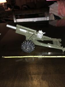 vintage plastic Artiliary Howitzer cannon works!