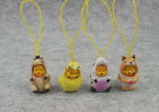 4PCS SET WINNIE the POOH Animal Wear figures strap COLLECTIBLE