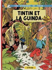PASTICHE TINTIN - TINTIN ET LA GUINDA. Cartonné 48 pages couleurs. Hors Commerce