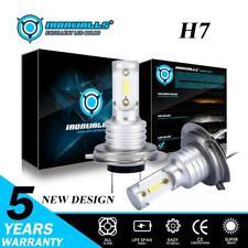 Pair 55W 8000LM H7 Car LED Headlight Bulb High or Low Beam Conversion Kit 6000K