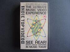 Indie Top Video - VHS Video 1989 - 15 full length Indie videos