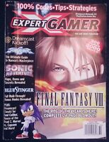 Expert Gamer Magazine Issue 64 October 1999 Final Fantasy VIII Nintendo RPG Rare