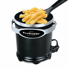 Small Electric Deep Fryer French Fries Chicken Frying Kitchen for 4 Cup Serving
