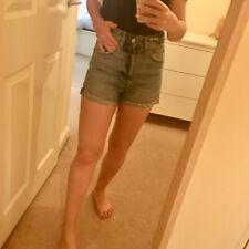 Denim shorts, high waist, size 8, H&M, perfect condition