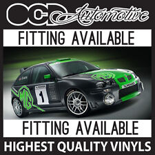 MG ZR / ZT XPOWER GRAPHICS SITICKER DECALS KIT - RALLY TOURING CAR - ROVER 25 75