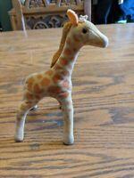 "Dakin dream pets mini baby giraffe 7"" VINTAGE  PLUSH STUFFED ANIMAL VTG TOY"