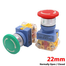 Mushroom Head 22mm E Stop Switch Emergency Stop Push Button Switch Onoff Lay37