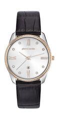 Pierre Cardin PC107572F04 Damen Armband Uhr Leder dunkelbarun neu