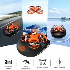 Eachine E016F 3-in-1 Flying Air Boat Land Driving Mode Detachable Drone Amphibia