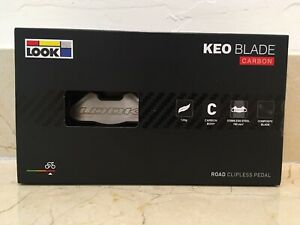 New Look Keo Blade CARBON 8Nm 12Nm CroMo Road Bike Pedals w/ Cleats U.S. Seller