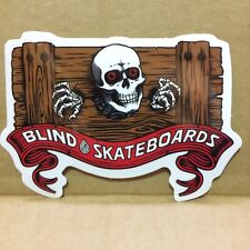 Blind Heritage Adesivo Con Teschio STOCK-Ripper Toy Machine skateboard skate Powell