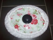 Slow cooker 6.5/5.5L Cath Kidston pattern & towell cover oval lid 13 x 10 inch
