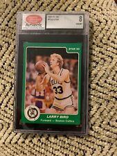Larry Bird 1984-85 Star NBA #1 SCD 8 NrMt Celtics Nice Shape