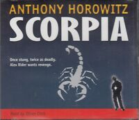 Scorpia Anthony Horowitz 8CD Audio Book Unabridged Alex Rider 5 FASTPOST