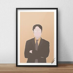 Dwight Schrute The Office INSPIRED WALL ART Print / Poster A4 A3 Dunder Mifflin