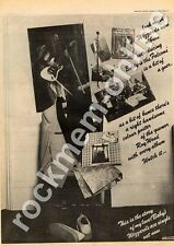 Wizzard Roy Wood ELO Move Eddie & The Falcons Advert 3/8/74
