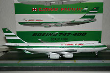 JC Wings 1:200 Cathay Pacific Boeing 747-400 ZK-NBS XX2920 Die-Cast Model Plane