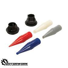 More details for 50mm sealant caulking gun cartridge nozzle tip set (6 piece)