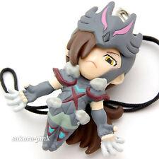 Wolf Haruto Saint Seiya Omega Mini Figure with Strap Key Chain Authentic BANDAI