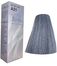 Berina A21 light grey color Haarfarbe Haarfärbemittel Färbmittel grau hellgrau