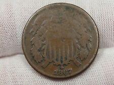 1867 US 2¢ Cent Piece. #18