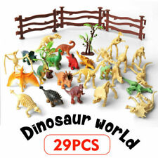 Realistic Dinosaur Toy Assorted Lot Pack of 24 Mini Jurassic Park Figure Plastic
