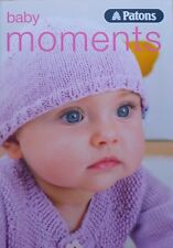Les bébés Knitting Pattern Book PATONS Baby Moments 4ply Knitting Book