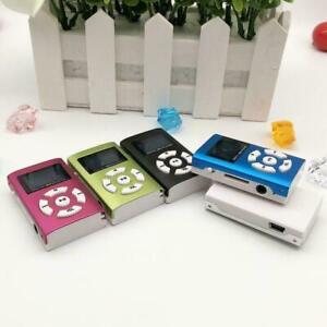 Hifi USB Mini MP3 Music Player Portable LCD Screen Sports Music Speakers D0P4