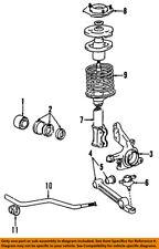TOYOTA OEM 84-88 Tercel Front Suspension-Strut 4851016680