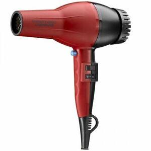 * NO BOX * NEW * BABYLISS PRO SUPER TURBO 2000 WATT HAIR BLOW DRYER RED # BAB307
