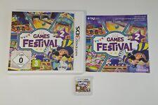 Nintendo 3DS Spiel Game Festival 2 OVP Box CIB Sammlung Zustand wie NEU PAL