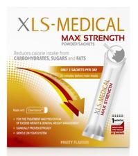 XLS-MEDICAL MAX STRENGTH in polvere - 60 BUSTINE-UN MESE DI FORNITURA. NUOVO ORIGINALE