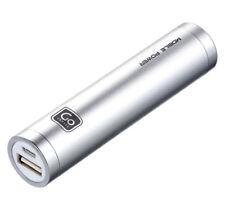 Banco de alimentación de emergencia Slimline Teléfono Móvil Portátil USB Cargador De Batería 2000 mAh