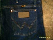 *WRANGLER* sz.35 x 36 mens blue denim WESTERN JEANS 13MWZ vey nice L@@K!!