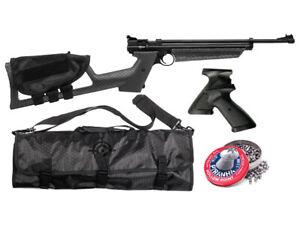 Crosman Drifter Multi-Pump Pellet Pistol/Rifle Kit by Crosman