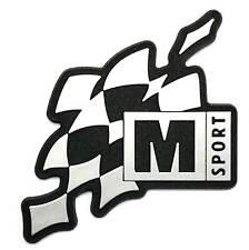 M-Sport World Rally Team Silver Adhesive Badge