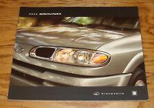 Original 2002 Oldsmobile Bravada Deluxe Sales Brochure 02 08/01