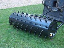 More details for garden lawn roller aerator  spiker 1.2m towed