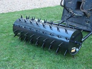 Garden Lawn Roller Aerator  Spiker 1.2M Towed