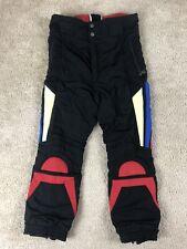Vintage Bogner Size 32 Ski Pants Snow Snowboarding Black Red Germany