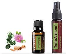 doTERRA Terraarmour 15ml & 30ml Spray Duo Therapeutic Essential Oil Aromatherapy