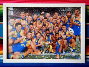 ✺Framed✺ 2018 WEST COAST EAGLES AFL Premiers Poster - 62cm x 44.5cm x 3cm