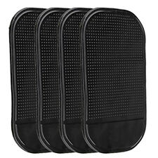 4 pcs Black Magic Sticky Pad Anti Slip Mat Car Dashboard for Cell Phone Useful
