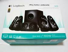 Logitech Z506 6-Piece 5.1 Channel 3D Surround Sound Speaker System (980-000430)