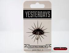"Keep Dry Umbrella 1"" Soft Enamel Black Metal Plating Yesterdays.Co Pin"