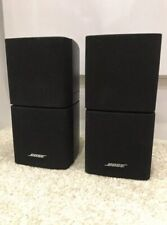 Bose Double Cube Speaker X2 In Black, Acoustimass And Lifestyle