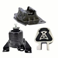 3PC MOTOR & TRANS MOUNT FOR 2013-2014-2015 FORD FUSION 2.5L FAST FREE SHIPPING